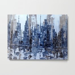 Dream in blue Metal Print