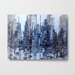 Dream in blue Metal Print