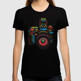 Black Camera T-shirt