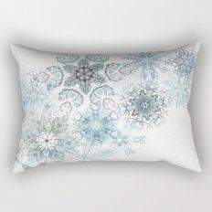 The Forest Drift Rectangular Pillow