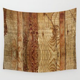 Wood Photography Wall Tapestry