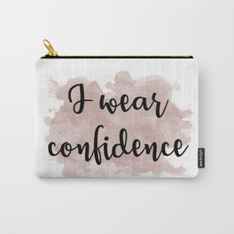 I wear confidence Carry-All Pouch