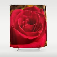 grace Shower Curtains featuring Grace by DesignsByMarly