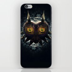 Epic Pure Evil of Majora's Mask iPhone & iPod Skin