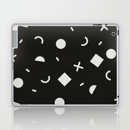 Black & White Memphis Pattern Laptop & iPad Skin
