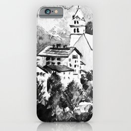 Northern Italy Landscape iPhone Case