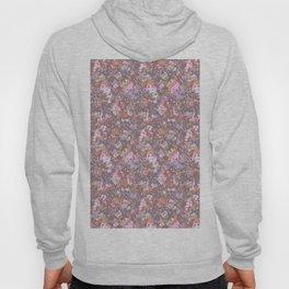 painted floral Hoody
