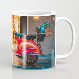 Orange Scooter Coffee Mug