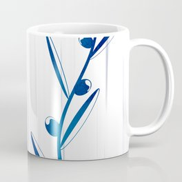 Blue foliage Coffee Mug