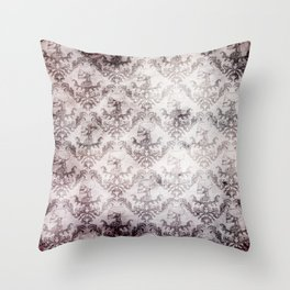 Bloodstained Baroque Throw Pillow