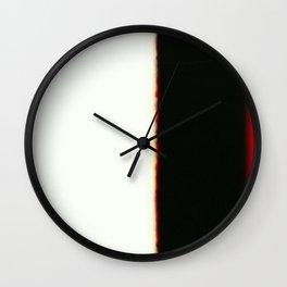 the fine line Wall Clock