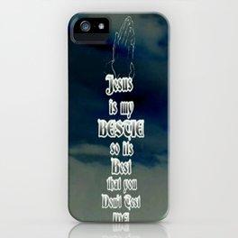 Jesus Is My Bestie iPhone Case