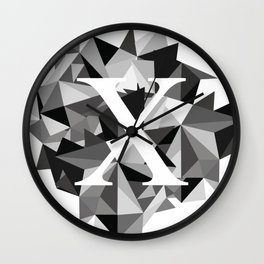 X for Wall Clock
