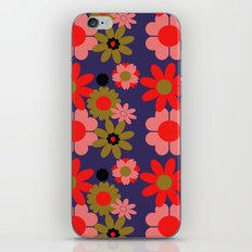 Groovy baby floral iPhone & iPod Skin