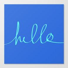 Hello, Sailor Canvas Print