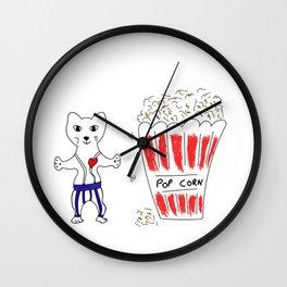 Poppin heart Wall Clock