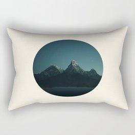 Magic Mountains Against Night Sky Rectangular Pillow