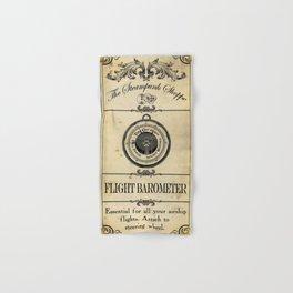 Steampunk Apothecary Shoppe - Barometer Hand & Bath Towel