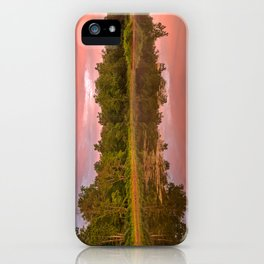 Pink Twilight Marsh iPhone Case
