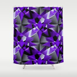 3D abstraction -08a- Shower Curtain
