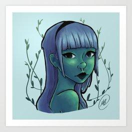 Cool Ivy Art Print