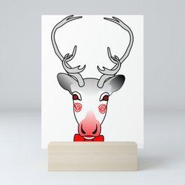 reindeer games Mini Art Print