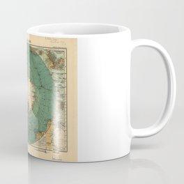 Map of Antarctica from 1912 (Süd-Polar-Karte) Coffee Mug