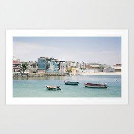 Cape  Verde Coast Art Print