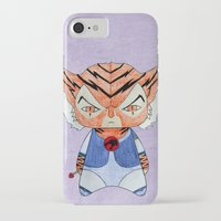thundercats iPhone & iPod Cases featuring A Boy - Tygra (Thundercats) by Christophe Chiozzi
