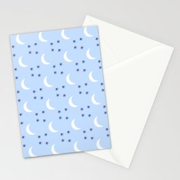 Crescent Moon 5 Stationery Cards