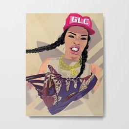 Teyana x Harlem GLC Metal Print