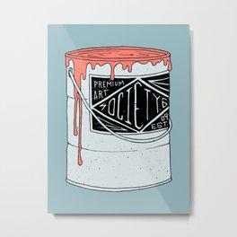 PREMIUM PAINT Metal Print
