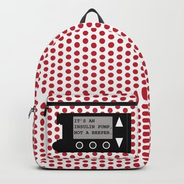Insulin Pump Backpack