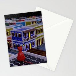 Vejigante City Stationery Cards