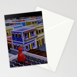 Vejigante City Stationery Cards