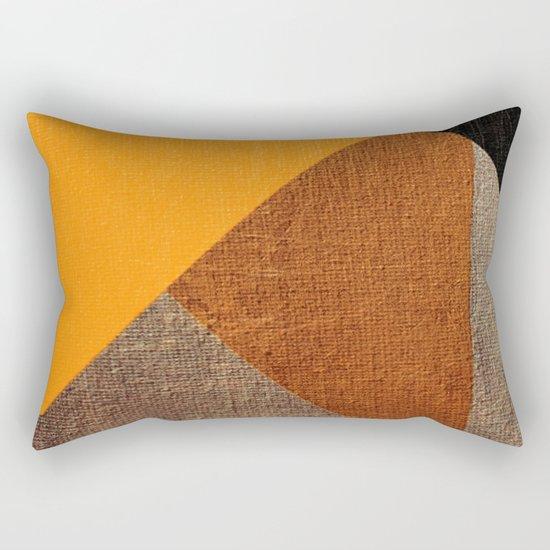 The Yellow Pig Rectangular Pillow