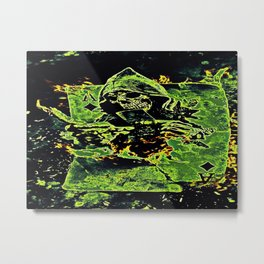 Reaper Of Aces Metal Print