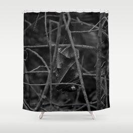 Evil Bat Shower Curtain
