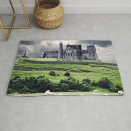 World Popular Historic The Rock Of Cashel Castle County Tipperary Ireland Europe Ultra HD Rug