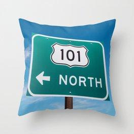 California 101 II Throw Pillow
