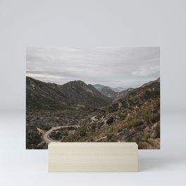 San Gabriel Mountains Mini Art Print