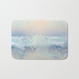 Ocean Splash In The Sunset Bath Mat
