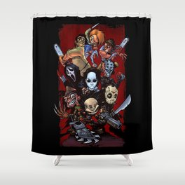 Horror Guice Shower Curtain