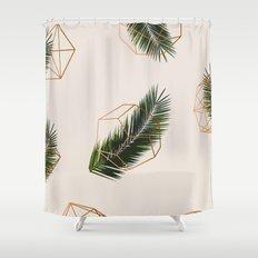 Palm + Geometry #society6 Decor #buyart Shower Curtain