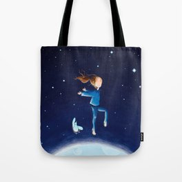 moon dancing Tote Bag