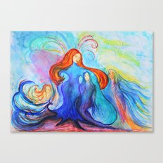 Essence of her Canvas Print