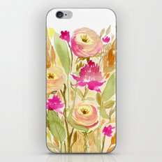 Floral 6 iPhone Skin