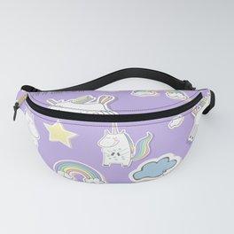 I'm a Unicorn - purple Fanny Pack