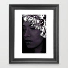 Native Princess 2 Framed Art Print