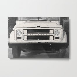 Old school bus - Americana Photography Metal Print